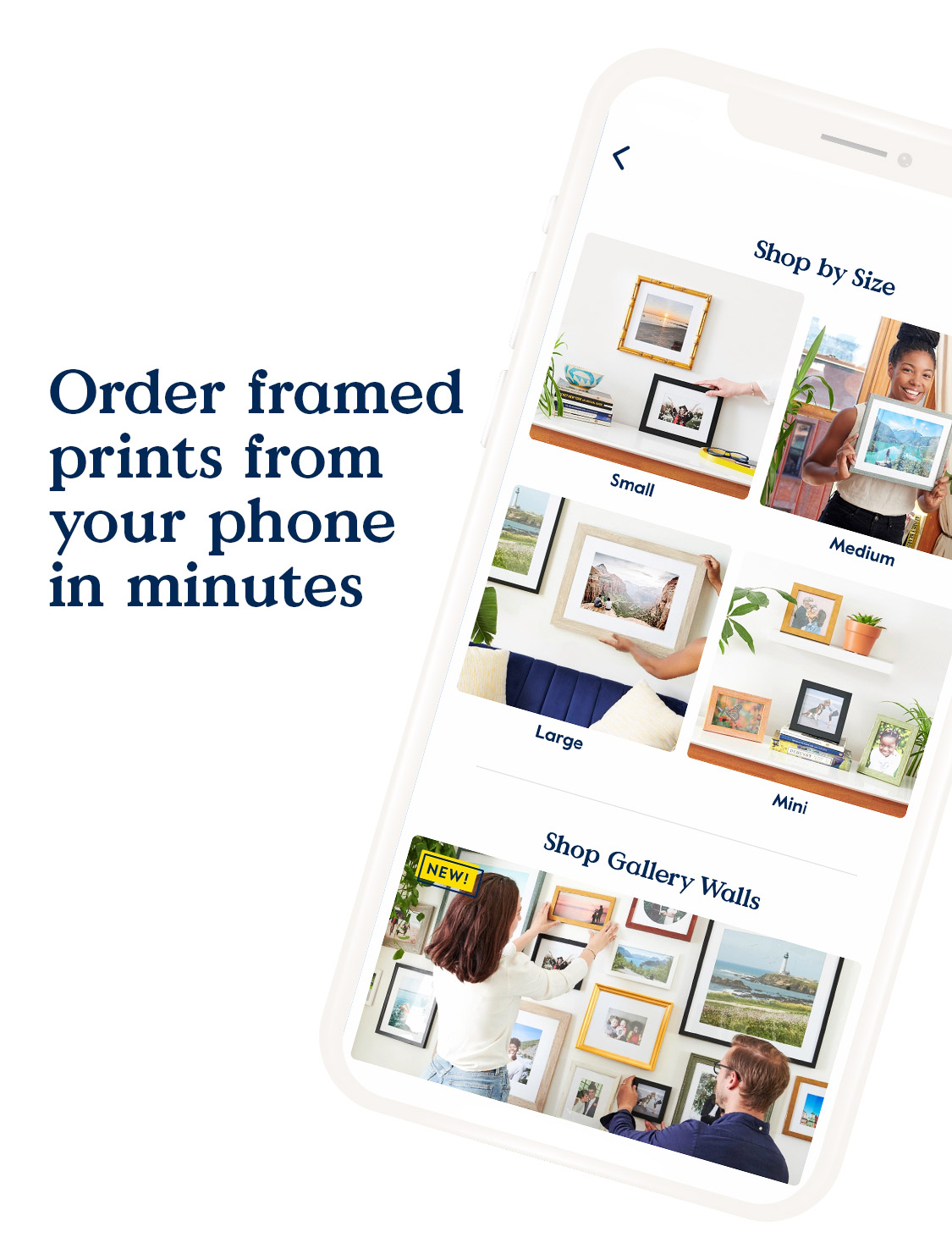 Order framed prints from your phone in minutes